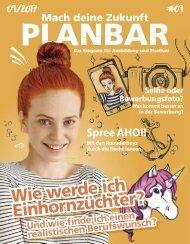 PLANBAR 2017 – Das Magazin für Ausbildung und Studium