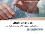 Benefit of Facial Acupuncture