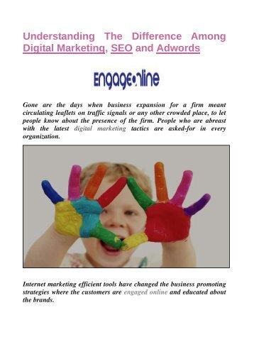 Digital Marketing - Engage Online