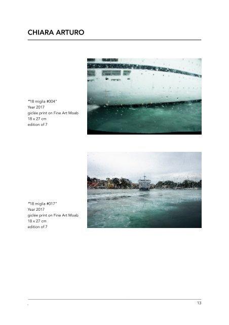 II° Proposta Heillandi   Selezione di Fotografia Contemporanea