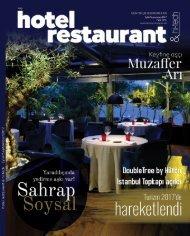 HOTEL RESTAURANT  MAGAZINE EYLUL 2017 SAYISI