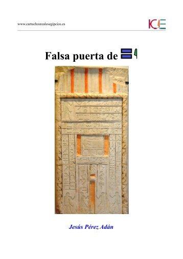 estela falsa puerta de sheshi