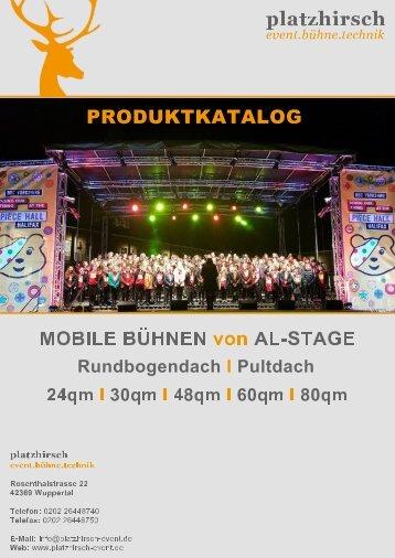 AL Stage Trailerbühnen