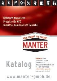 MANTER_Gesamtkatalog 2017 PDF