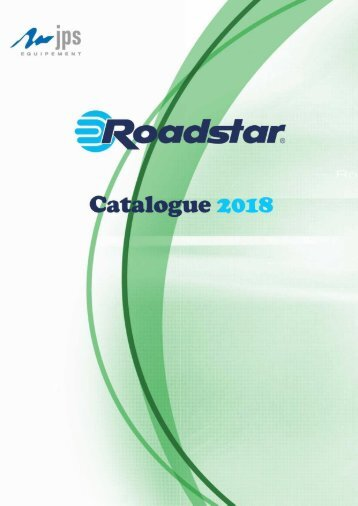 Catalogue Roadstar 2018