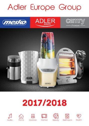 Catalogue ADLER_MESKO_CAMRY 2018