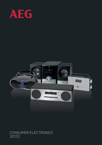Catalogue AEG audio 2017
