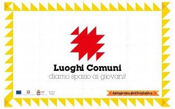 presentazione slides LUOGHI COMUNI