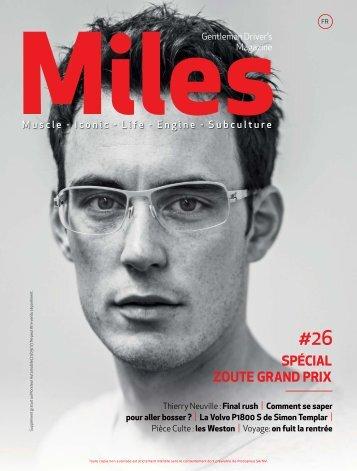 Miles #26 Spécial Zoute Grand Prix
