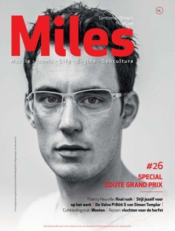 Miles #26 Special Zoute Grand Prix
