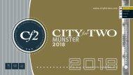 CITYforTWO MÜNSTER | Limitierte Ausgabe 2018