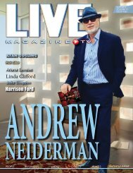 LIVE Magazine Issue #263 September 15, 2017
