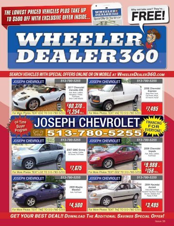 Wheeler Dealer 360 Issue 38, 2017