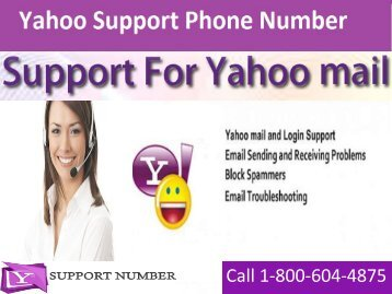 1-800-604-4875 Yahoo Support Phone Number