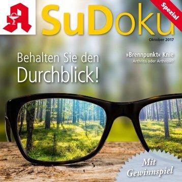 "Leseprobe ""Sudoku spezial"" Oktober 2017"