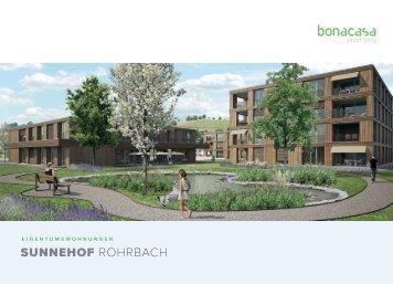 Dokumentation Eigentumswohnungen Sunnehof in Rohrbach