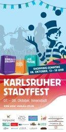 KA-Stadtfest-2017 Programm