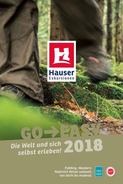 Go Easy 2018 Reisekatalog von Hauser Exkursionen