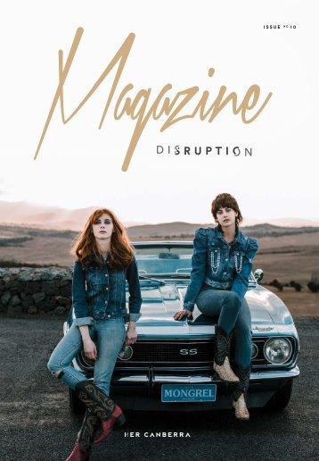 Magazine disruption