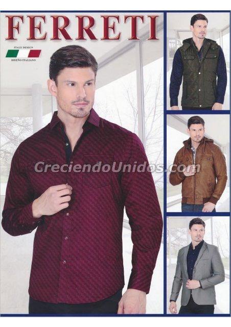 #604 Catálogo Ferreti Jeans Ropa para Hombre y Perfumes de Marca
