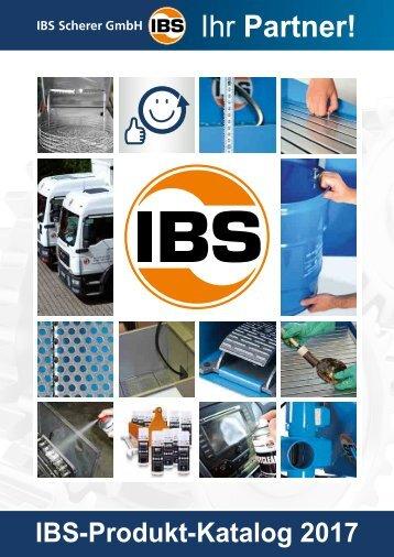 Produktkatalog IBS Scherer