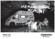 Karmann Mobil Technische Daten 2017-2018