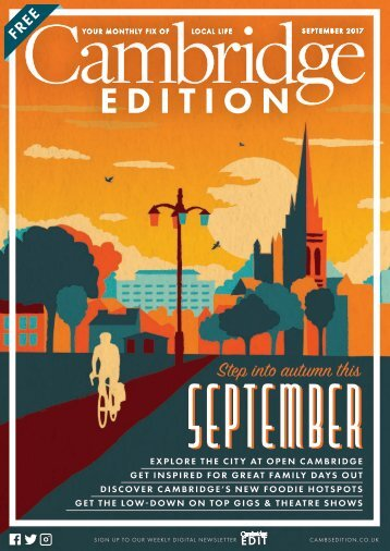 Cambridge Edition SEPTEMBER