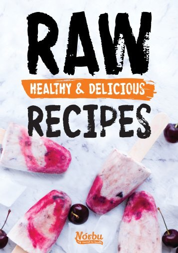 Norbu Raw Recipes