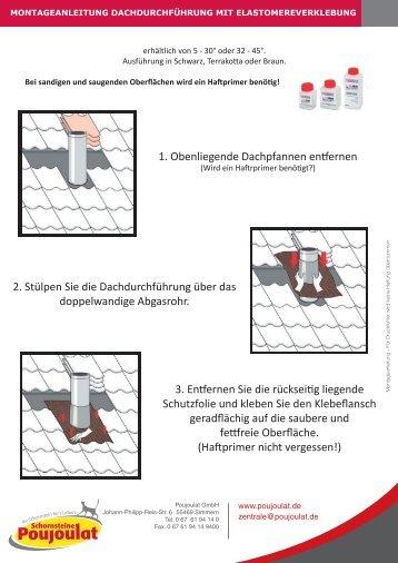Montageanleitung Dachdurchführung_Elastomereverklebung