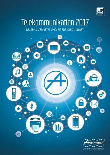 Auerswald Telekommunikation 2017_GESAMTKATALOG_online
