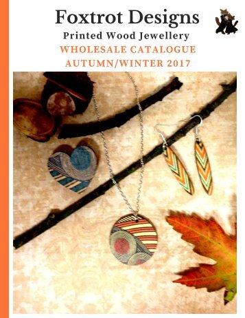 Printed Wood Jewellery Wholesale Catalogue A/W 2017
