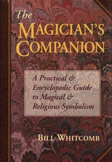 The Magicians Companion Guide to Symbolism