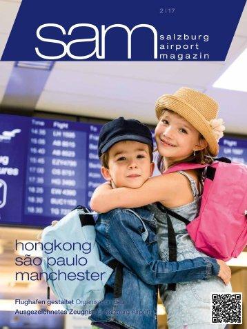 Salzburg Airport Magazin SAM 02-2017