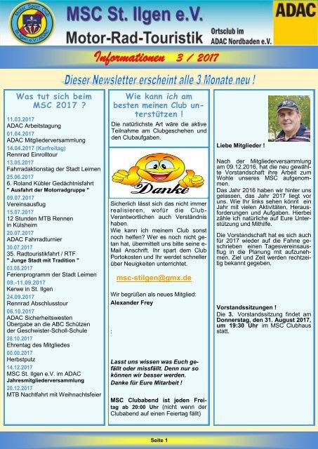 Newsletter 3-2017