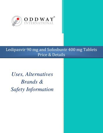 Ledipasvir 90 mg & Sofosbuvir 400 mg Tablets Price India | Generic Hepatitis Medicines Wholesaler