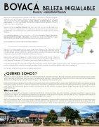 Brochure Destino BOYACÁ 2017 - My Trip Colombia - Paipa Tours - Page 2