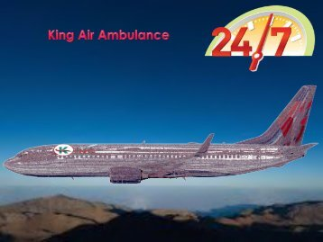Doctor Facility Air Ambulance Service in Delhi -King Air Ambulance