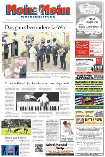 MoinMoin Schleswig 38 2017