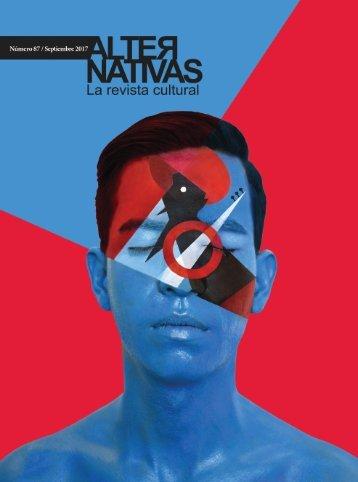 Revista Cultural Alternativas N87 Septiembre 2017