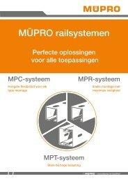 MÜPRO Railsystemen NL BE