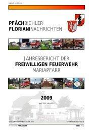 pfåchbichler florianinachrichten - Feuerwehr Bezirk Lungau