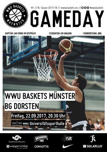 WWU Baskets Gameday #1 2017_18