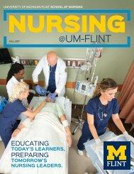 UM-Flint School of Nursing Fall 2017 Newsletter