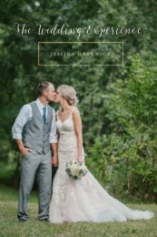 Wedding Experience Booklet Final