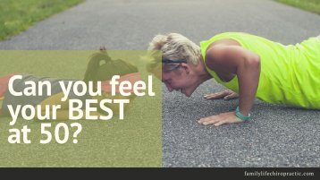 Can you feel your BEST at 50-