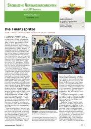 Die Finanzspritze - Feuerwehr