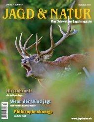 Jagd & Natur Ausgabe Oktober 2017 | Vorschau