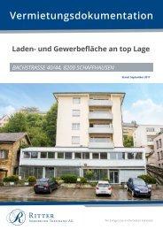 Vermietungsdokumentation Bachstrasse 40-44, 8200 Schaffhausen