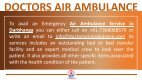 Most Reliable Air Ambulance Service in Lucknow at Low Fare - Page 5