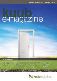 Kuub E-magazine #37, jaargang 5, oktober 2017